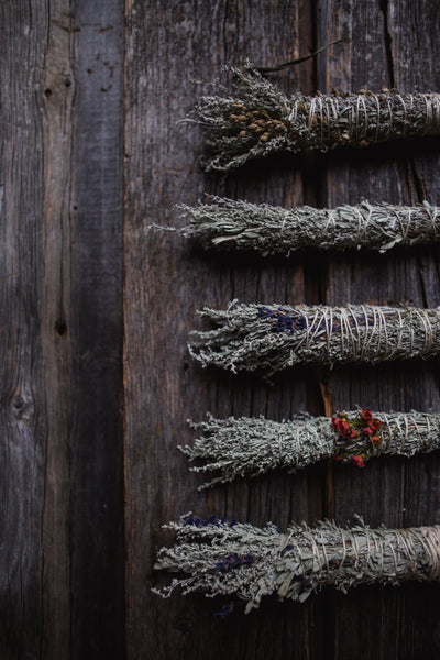 Smudge Stick - White Sage / Lavender