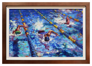 Christopher M -  Swimmers - Valued at $3675