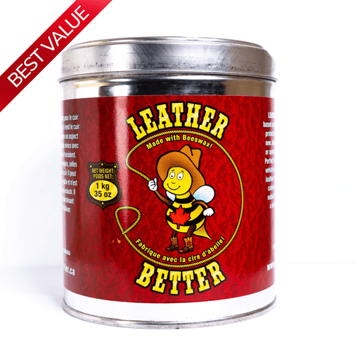 Leather Better 1kg (35.2 oz) - Leather Conditioner