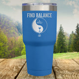 Find Balance Hiking Laser Etched Tumbler