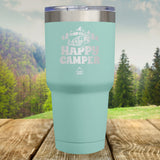 Happy Camper Laser Etched Tumbler
