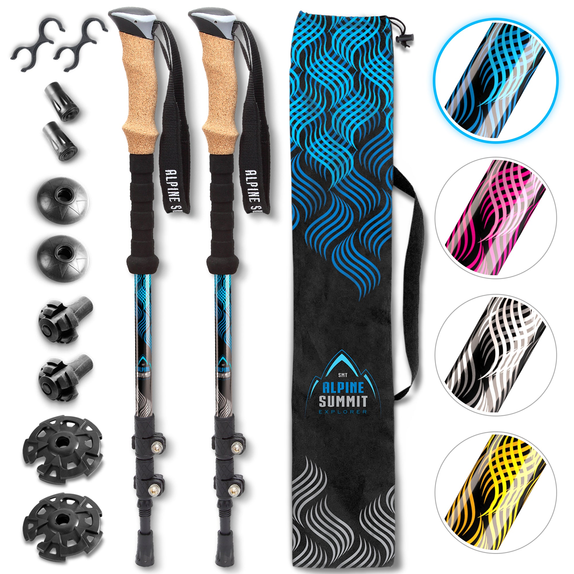 Alpine Summit Explorer Edition Trekking Poles