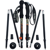 Alpine Summit Folding Trekking Poles (Pair)