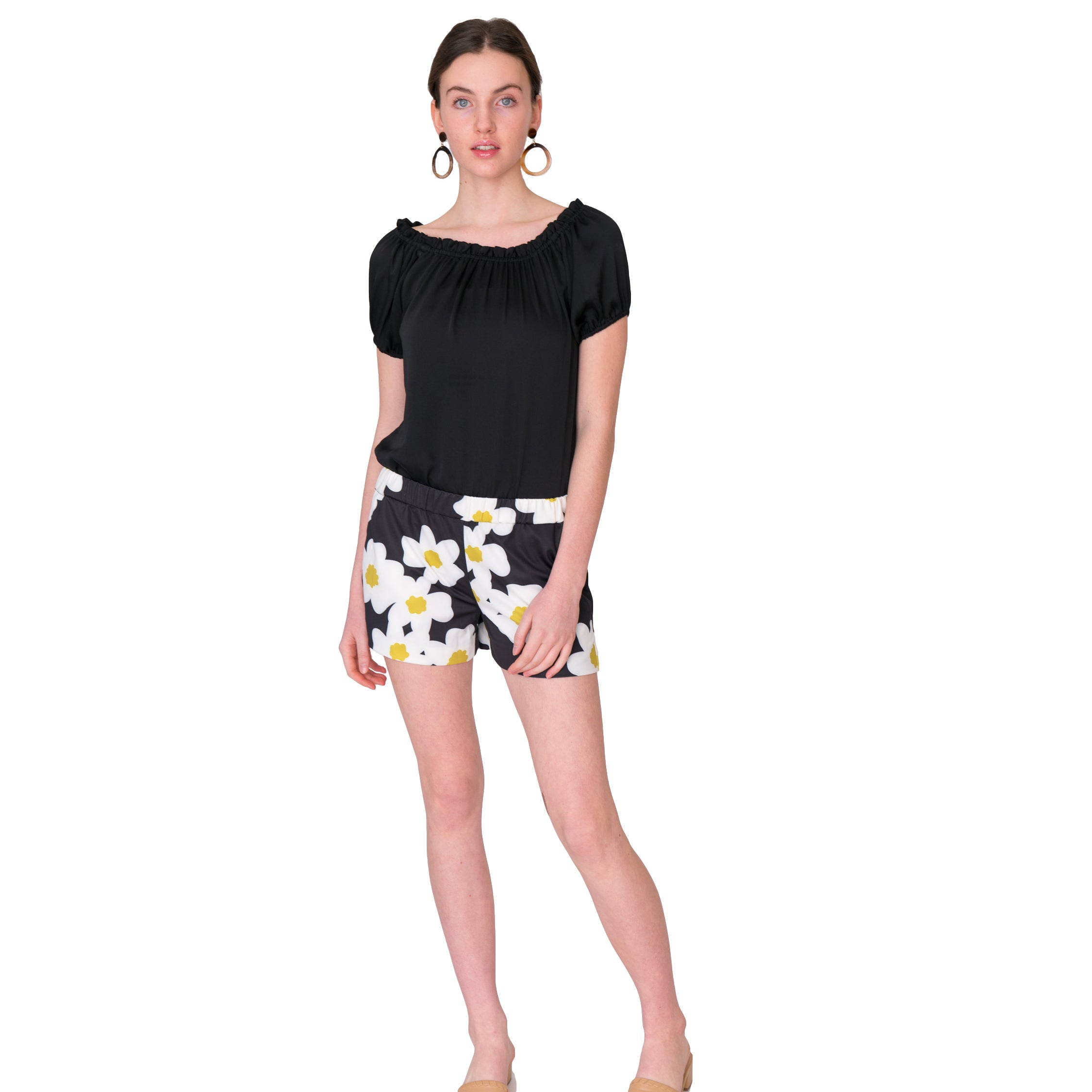 Libby Shorts in Mod Floral - Elizabeth Ackerman New York