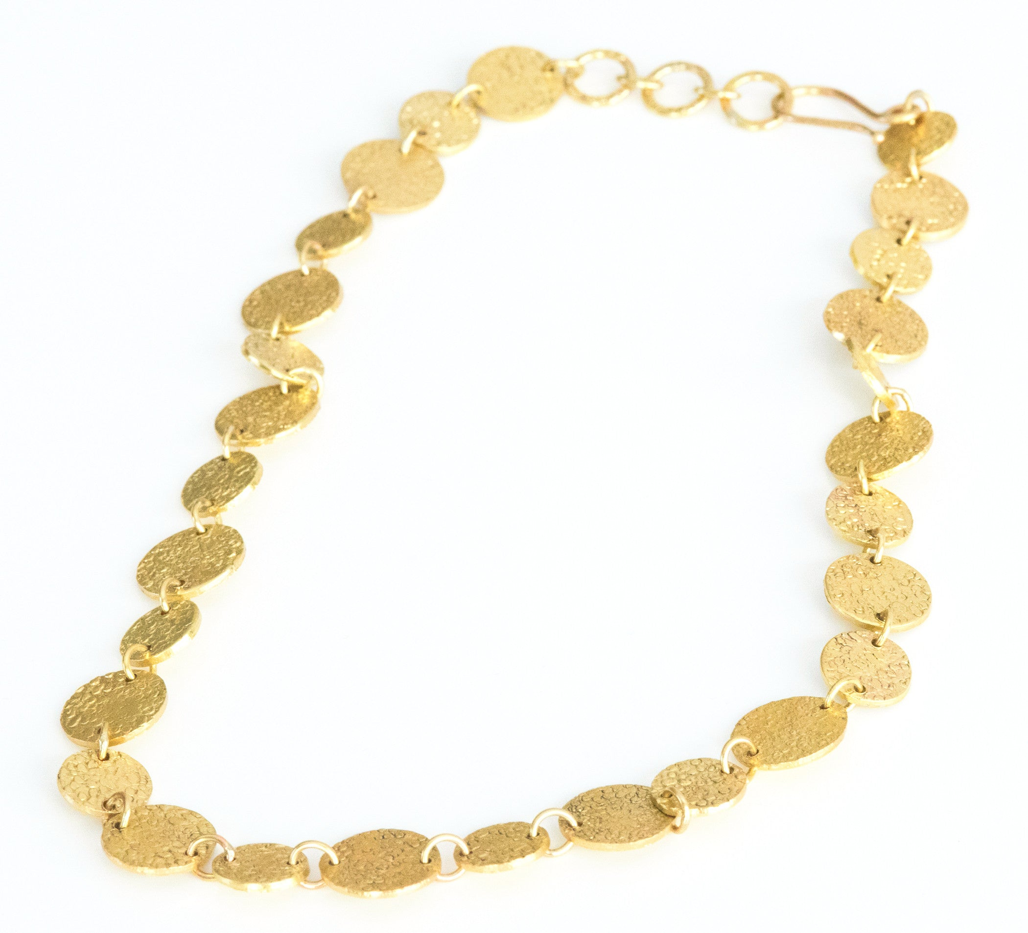 Short Disk Necklace - Elizabeth Ackerman New York