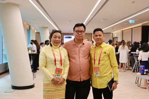 Levi Sap Nei Thang with ASEAN Pavilion at Programme for People and Planet: Expo 2020 Networking Event