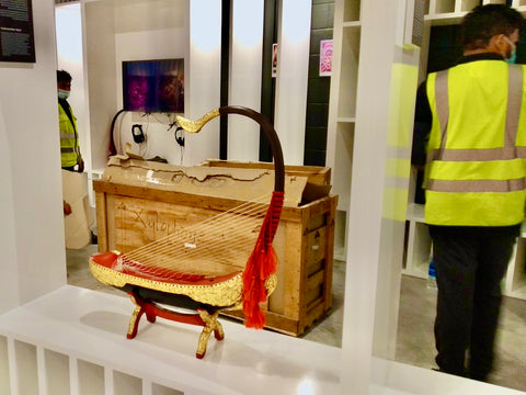 Cargo Arrived to Myanmar Pavilion at the Expo 2020 Dubai