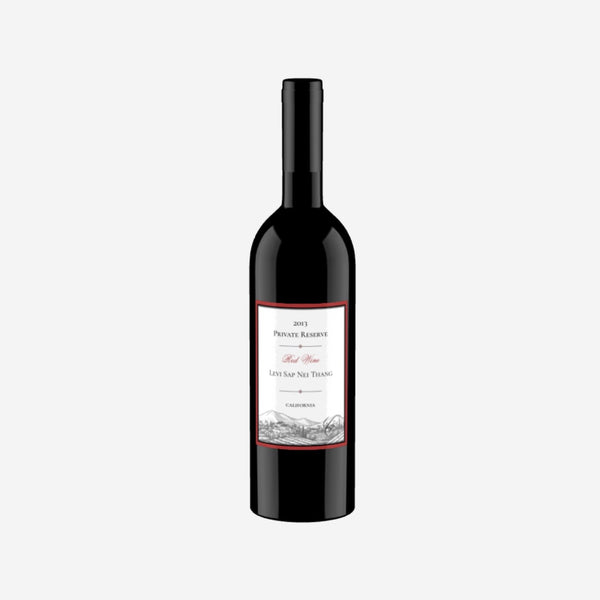 Levi Sap Nei Thang Private Reserve 2013 Red Wine California