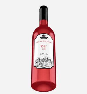Levi Sap Nei Thang Rose' Wine 2019 California