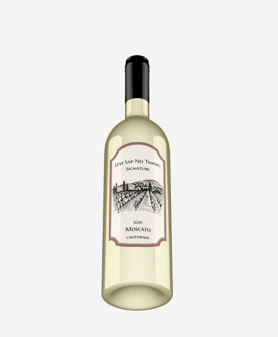Levi Sap Nei Thang Signature 2019 Moscato Spicy White Wine California