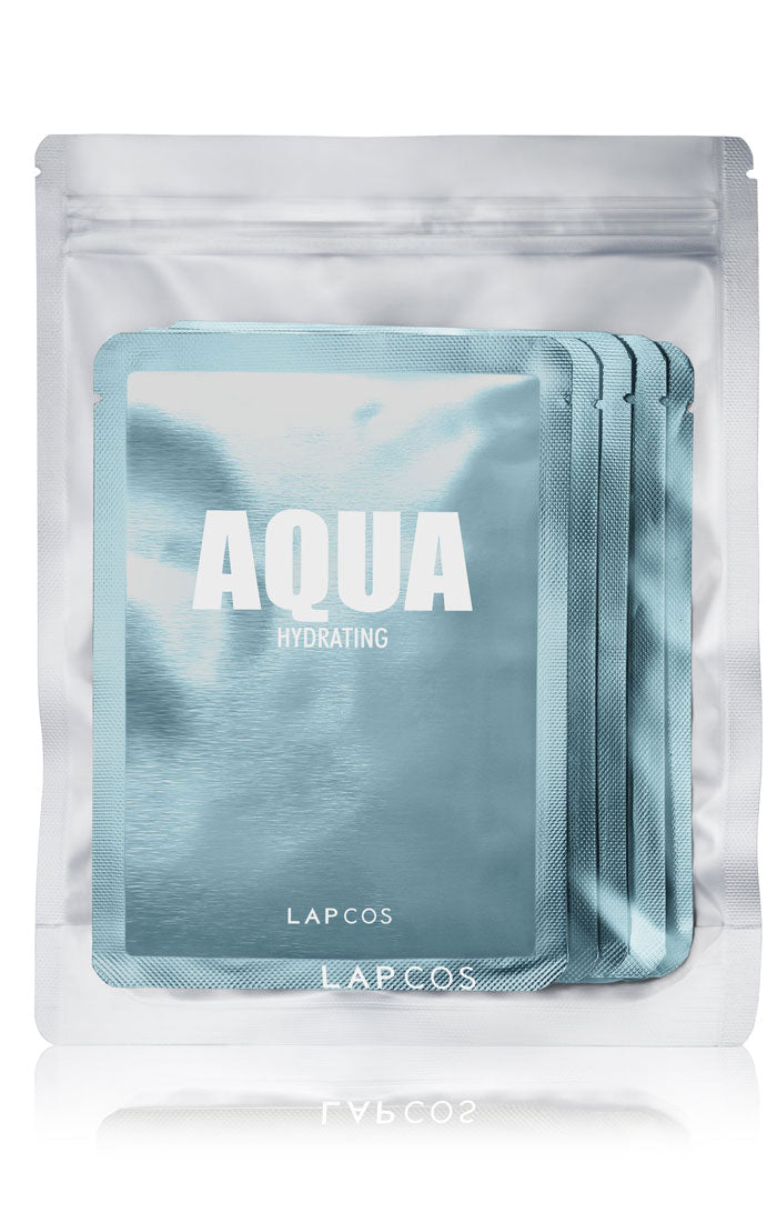 AQUA DAILY SKIN MASK - 5 PACK