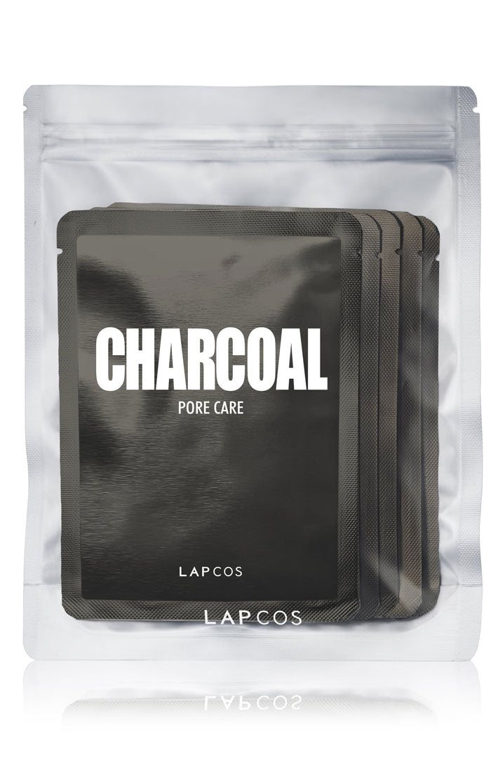 CHARCOAL DAILY SKIN MASK - 5 PACK