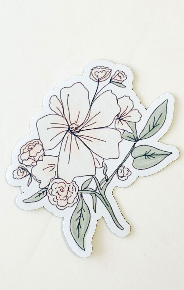 DOGWOOD FLOWER MAGNET