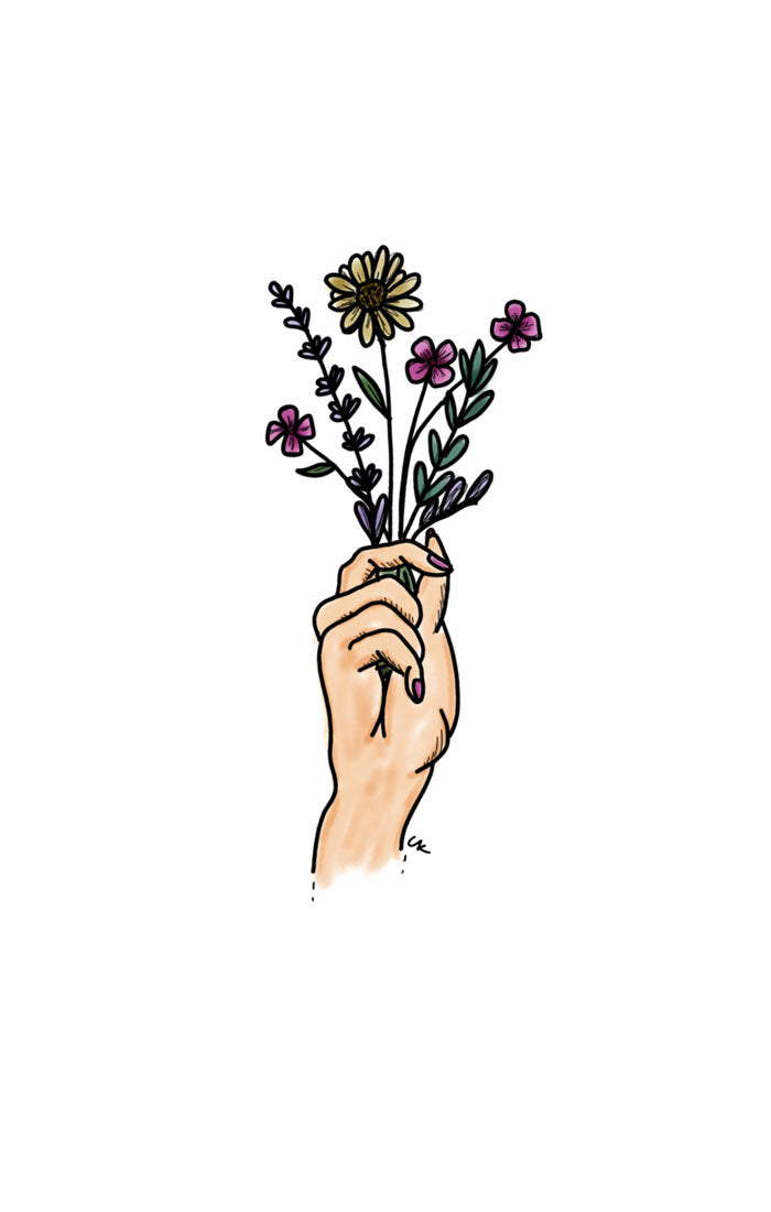 HANDFUL OF FLOWERS PRINT