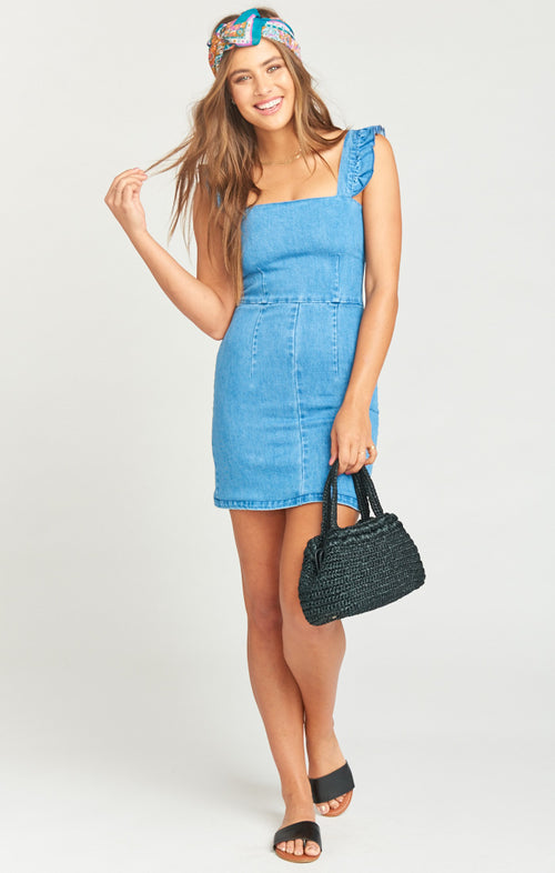 RUTHIE RUFFLE DRESS