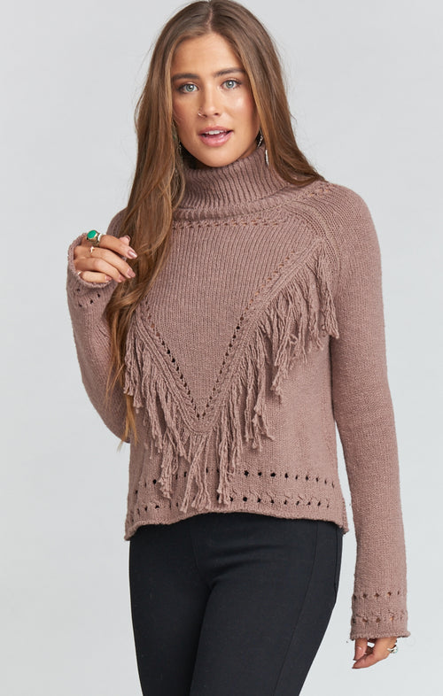 FELECIA FRINGE SWEATER