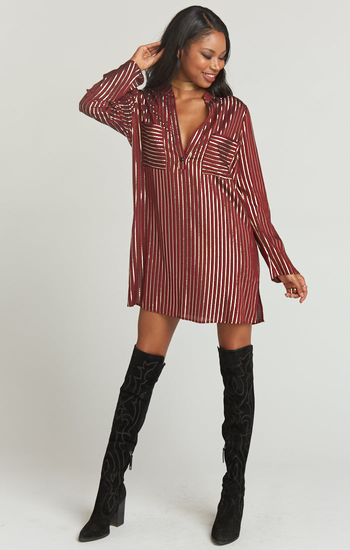 MARIBELLE SHIRT DRESS