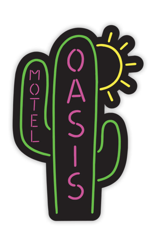 MOTEL OASIS STICKER