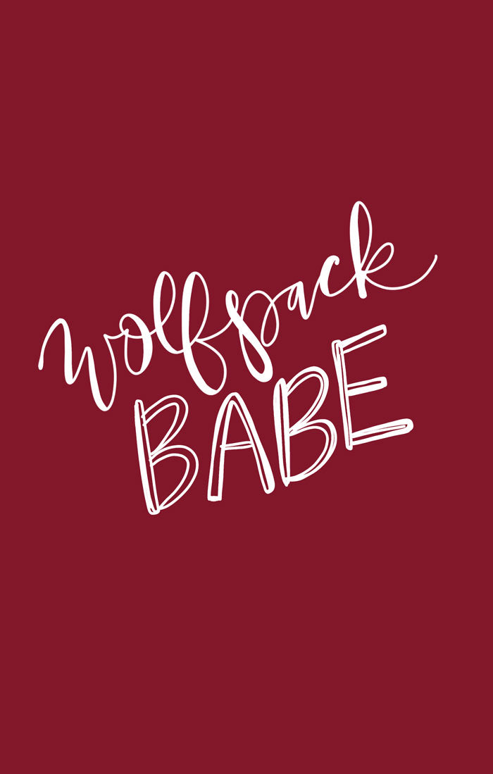 WOLFPACK BABE PRINT