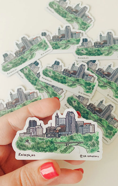 RALEIGH SKYLINE MAGNET