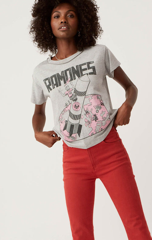 RAMONES GABBA GABBA HEY REVERSE GIRLFRIEND TEE