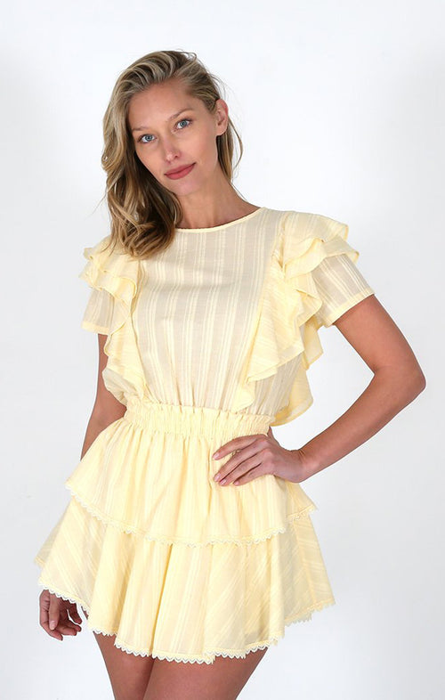 GEORIGA RUFFLE DRESS