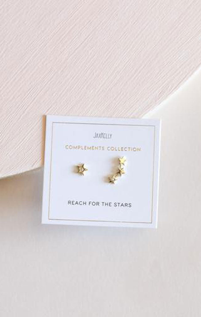 STAR CONSTELLATION COMPLEMENT EARRINGS