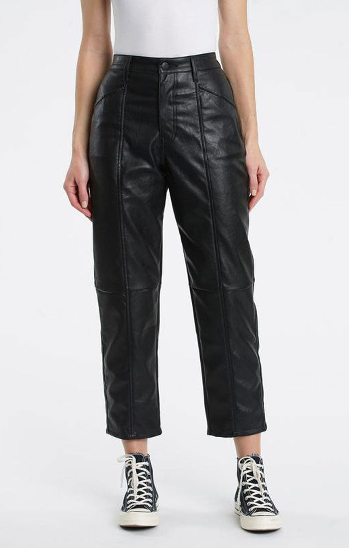 TESS LEATHER UTILITY PANT