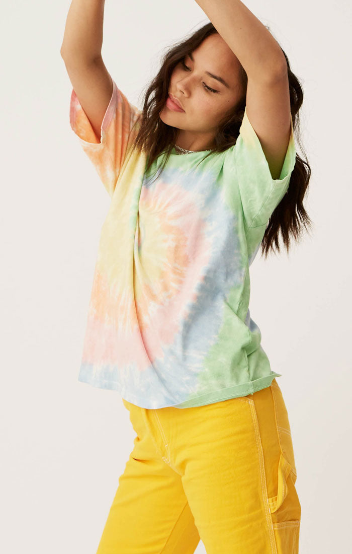 FADED NEONS TIE DYE WEEKEND TEE