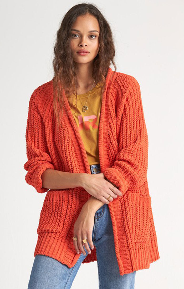 WARM UP CARDIGAN