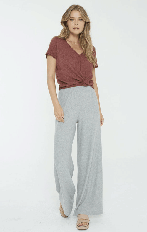 HIGHER LOVE RIB PANTS