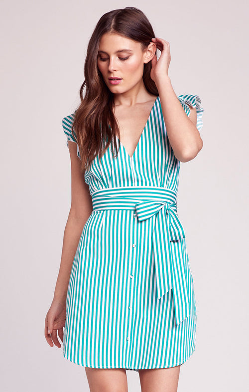 PEPPERMINT STRIPE DRESS