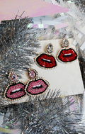 AIR KISSES STATEMENT EARRINGS