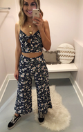 CARLEY HIGH WAISTED CULOTTE PANT