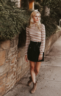 SAY YES TO STRIPES TOP