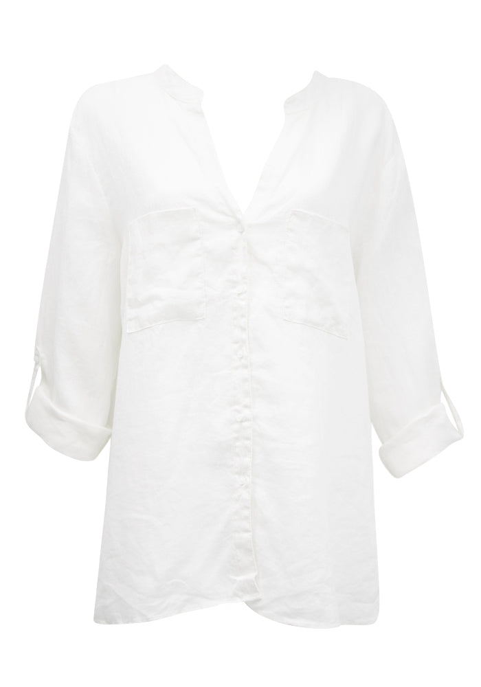 White Linen Must Have Shirt