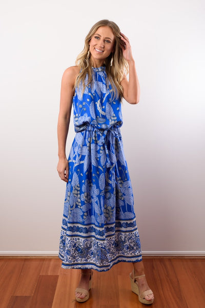 Chloe Maxi Dress - Coco Royal