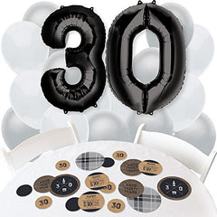 Dirty 30 Birthday Party Ideas Balloons