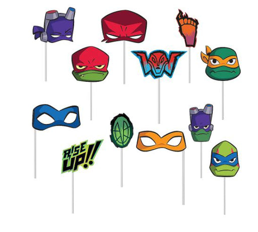 Nickelodeon: Rise of the Teenage Mutant Ninja Turtles - Scene Setter with Photo Booth Props