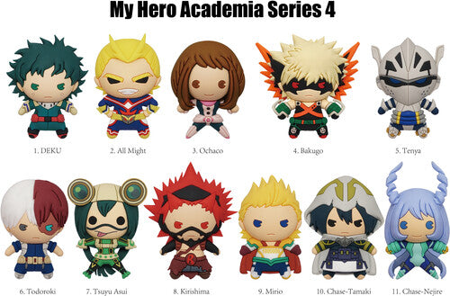 My Hero Academia 3D Foam Collectible Figural Bag Clip Mystery Bag