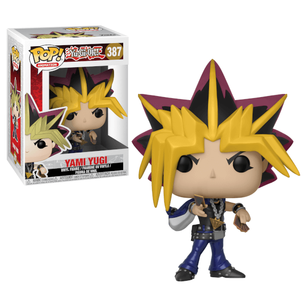 FUNKO POP - YU GI OH SET OF 4 VINYL POP SET