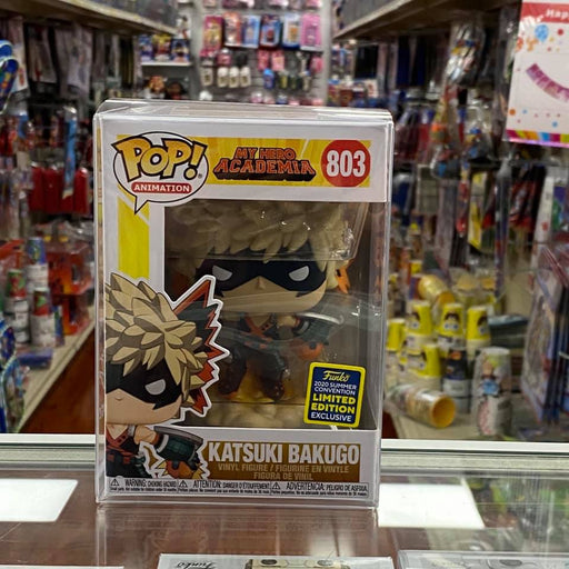 Funko My Hero Academia Katsuki Bakugo Summer Convention Shared Exclusive POP! Vinyl Figure SDCC 2020
