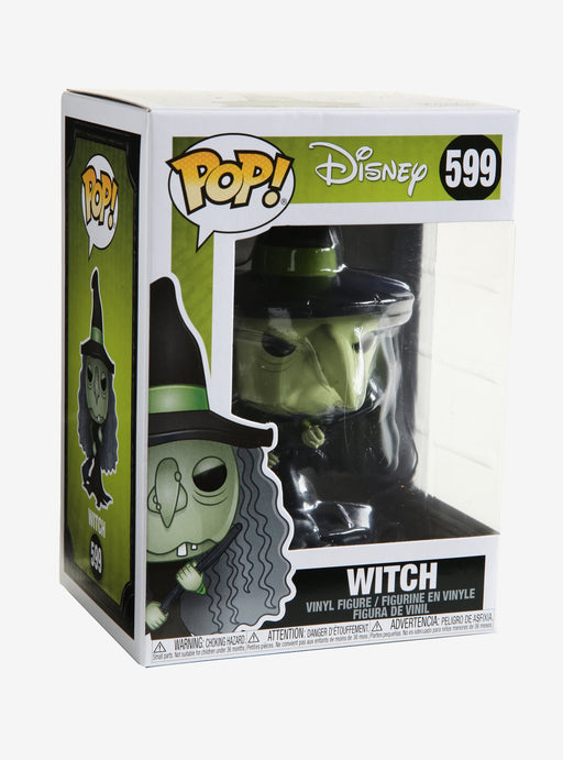 Funko Pop! Disney: Nightmare Before Christmas - Witch #599 with protector Case
