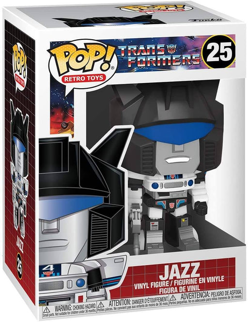 Funko POP! Retro Toys: Transformers - Jazz Vinyl Figure #25