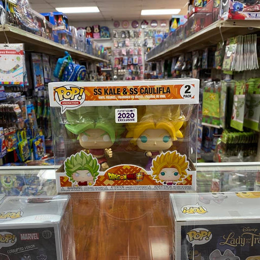 SS Kale & SS Caulifla 2020 Funimation Exclusive Dragon Ball Z Funko Pop! 2-Pack