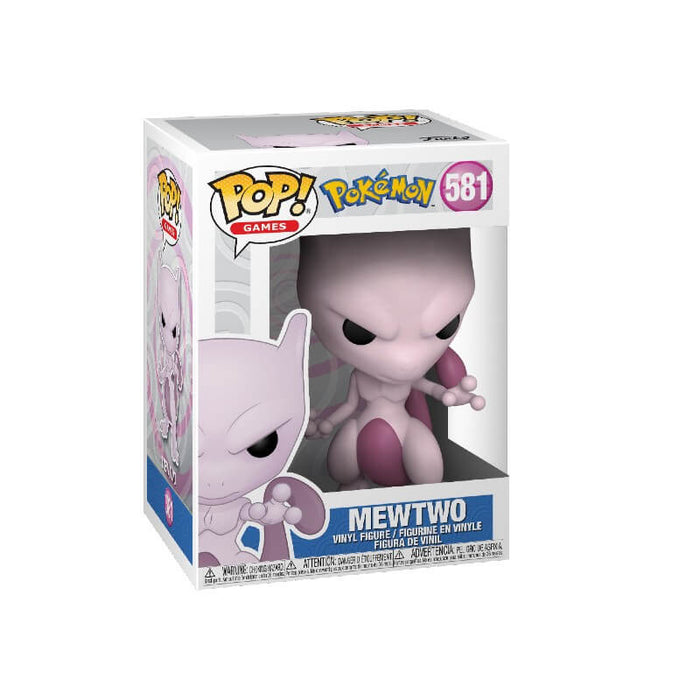 Funko Pop! Pokemon -Mewtwo Vinyl Figure #581