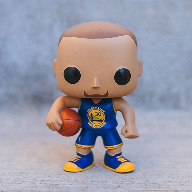 POP! NBA - Stephen Curry Golden State Warriors Vinyl Figure #19 Blue Jersey