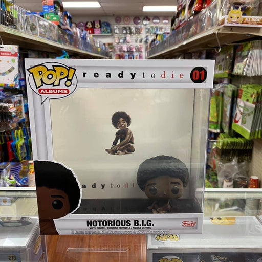 Funko Pop! Albums: Notorious B.I.G. - Ready to Die, with Hard Shell Case Vinyl Figure