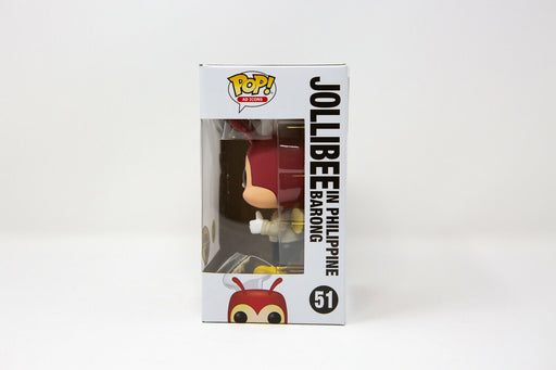 Funko Pop Ad Icons - JOLLIBEE in Philippine Barong #51 Vinyl Figure (Glow in the Dark)