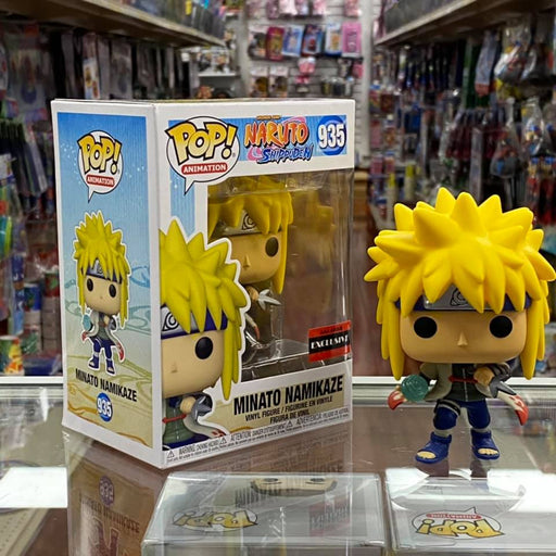 Funko Pop! Naruto: Shippuden Minato Namikaze RasenganVinyl Figure - AAA Anime Exclusive COMMON ONLY